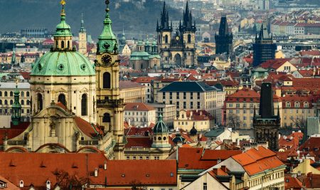 Prague is the second fastest developing city in the EU