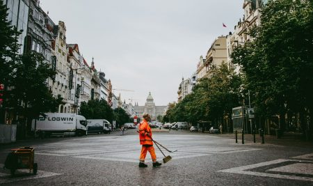 Waste collection and recycling in Prague