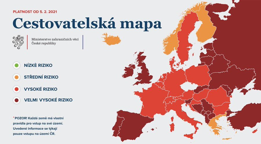 New conditions of entry in the Czech Republic